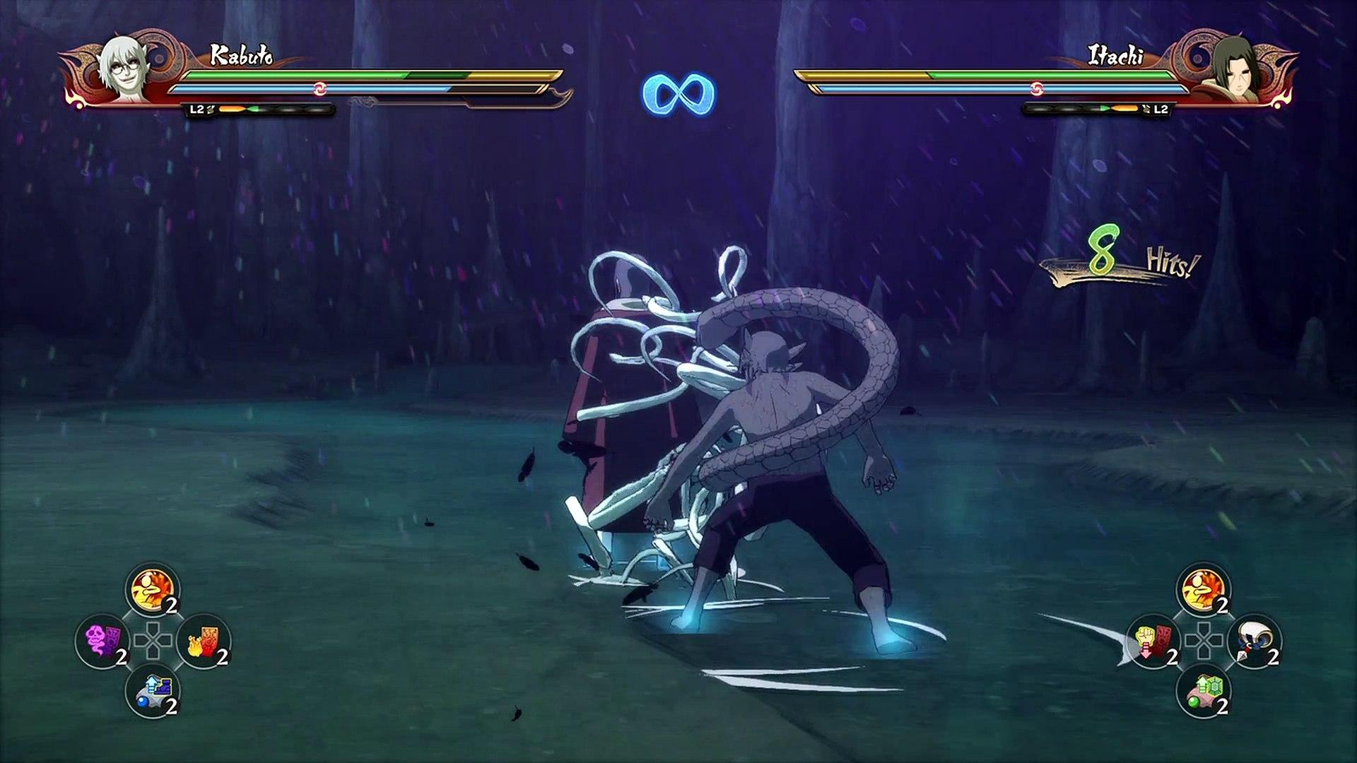 Naruto Shippuden Ultimate Ninja Storm 4 {PS4} part 24 — The Man Named Kabuto