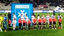 Vidéo protocole AJ Auxerre / Nancy - Un moment fort pour nos licenciés !