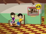 dibujos animados sobre los derechos de los niños Al revés y al derecho ISA.