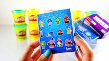 Giant Disney Pixar Inside Out Joy and Disgust Surprise Play doh Egg   Evies Toy House