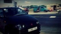 Fiat X 1-9 Turbo Vs. Fiat Punto GT Turbo Drag Race HD