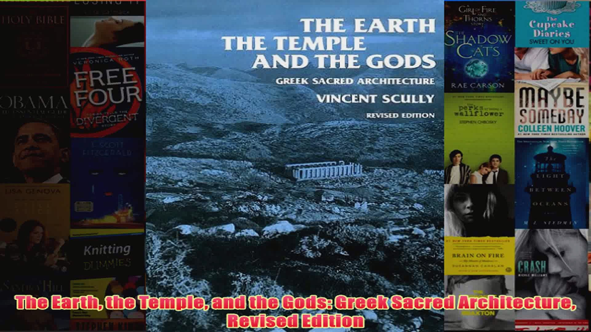 Download PDF  The Earth the Temple and the Gods Greek Sacred Architecture Revised Edition FULL FREE