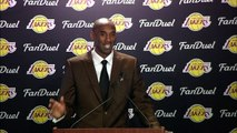 Kobe Bryant Reacts to Playing in Philly