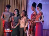 Lao NEWS on LNTV  Lao Grand Fashion Show 2014 in Vientiane showcases Lao silks and styles