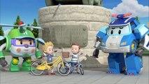 Sécurité routière avec Poli | #09.Faire du vélo en sécurité
