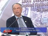 Lao NEWS on LNTV: Laos has the potential to generate more than 20,000 MW from hydropower.3