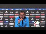 """Juventus Napoli 1-0 - Sarri: """"Abbiamo giocato alla pari con la Juve'' (13.02.16)"""