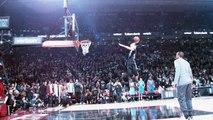 Les dunks de Zach LaVine au super ralenti Phantom (All Star Game 2016)