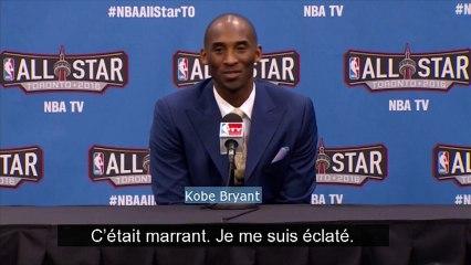 """Kobe Bryant a passé """"un super moment"""" pour son dernier All Star Game"""