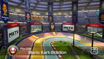 Nintendo Wii-U Mario Kart 8 [HD Video] Mushroom Cup Mario Kart Stadium - Pilz Cup Mario Kart Stadion 150ccm High Quality Gamingstream