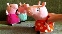 peppa pig свинка пеппа на русском. свинка пеппа и паровозик учим цвета для детей FineBabyTV
