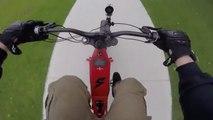 Balade en vélo électrique à 80km/h dans les rues de Sydney