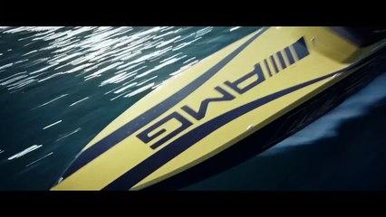 Un bateau de course inspiré par la Mercedes AMG GT3