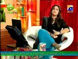 Reaction Of Shahid Afridi When Nadia Khan Asked Him About Kiss