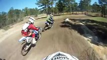 Motorcross Race Crash - Bunk Bikes