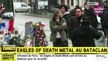 Eagles of Death Metal : Les touchantes confidences du chanteur du groupe