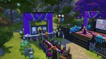 The Sims 4 Speed Build Outdoor Theater