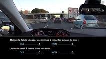 Nouvelle épreuve du code de la route - Connaissance des risques liés aux conducteurs de deux-roues motorisés