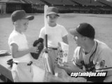1950s WARREN SPAHN GRAPE-NUTS FLAKES CEREAL COMMERCIAL