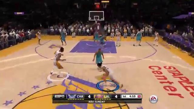 Hornets vs Lakers NBA Live 16 (News World)