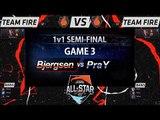 [LOL All-Star 2015] Bjergsen vs PraY (Game3) - 1v1 Tournament : Semi-Final