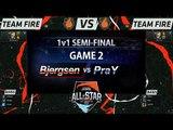 [LOL All-Star 2015] Bjergsen vs PraY (Game2) - 1v1 Tournament : Semi-Final