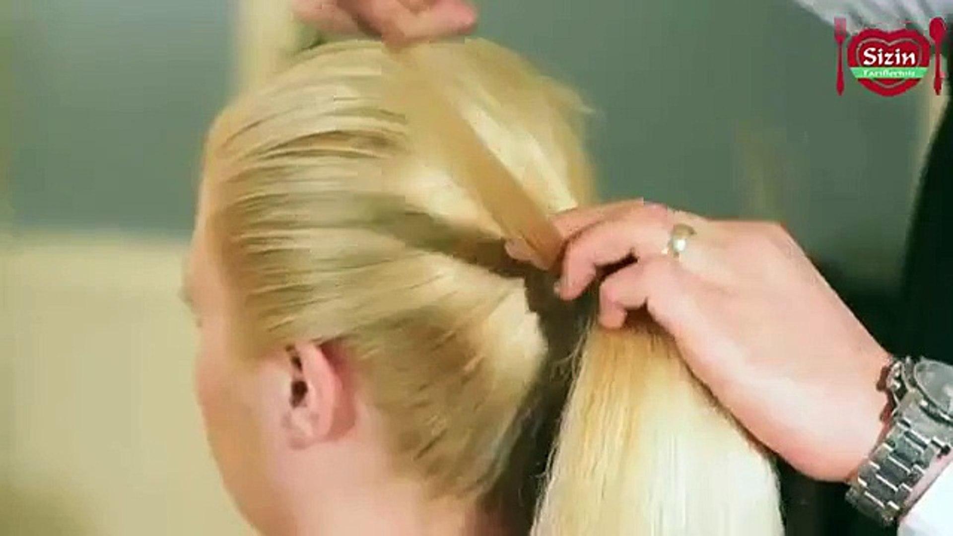 Saçlara mısır örgü nasıl yapılır