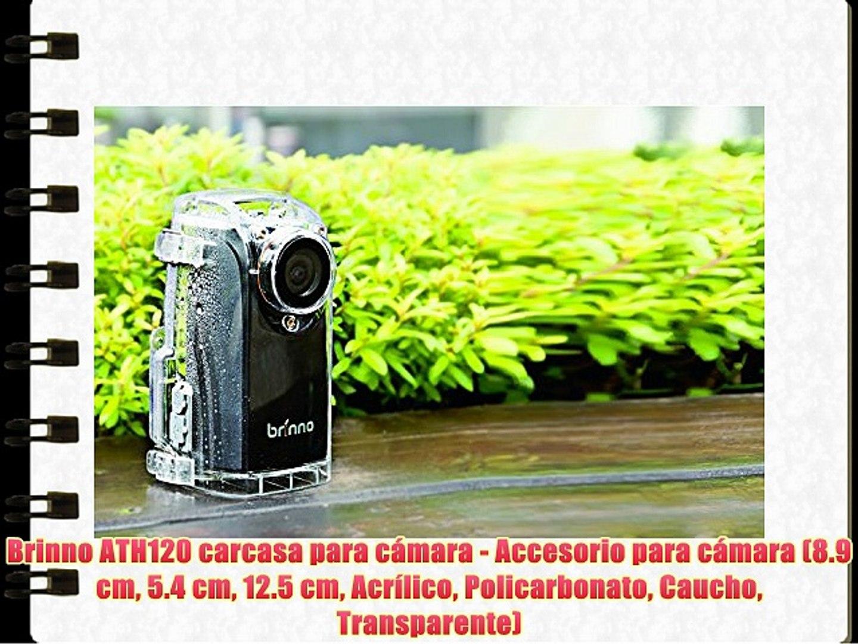 Brinno ATH120 carcasa para cámara - Accesorio para cámara (8.9 cm 5.4 cm 12.5 cm Acrílico Policarbon
