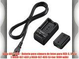 Sony ACC-TRW - Batería para cámara de fotos para NEX-3 5 6 y 7/DSLR-SLT-A33 y DSLR-SLT-A55