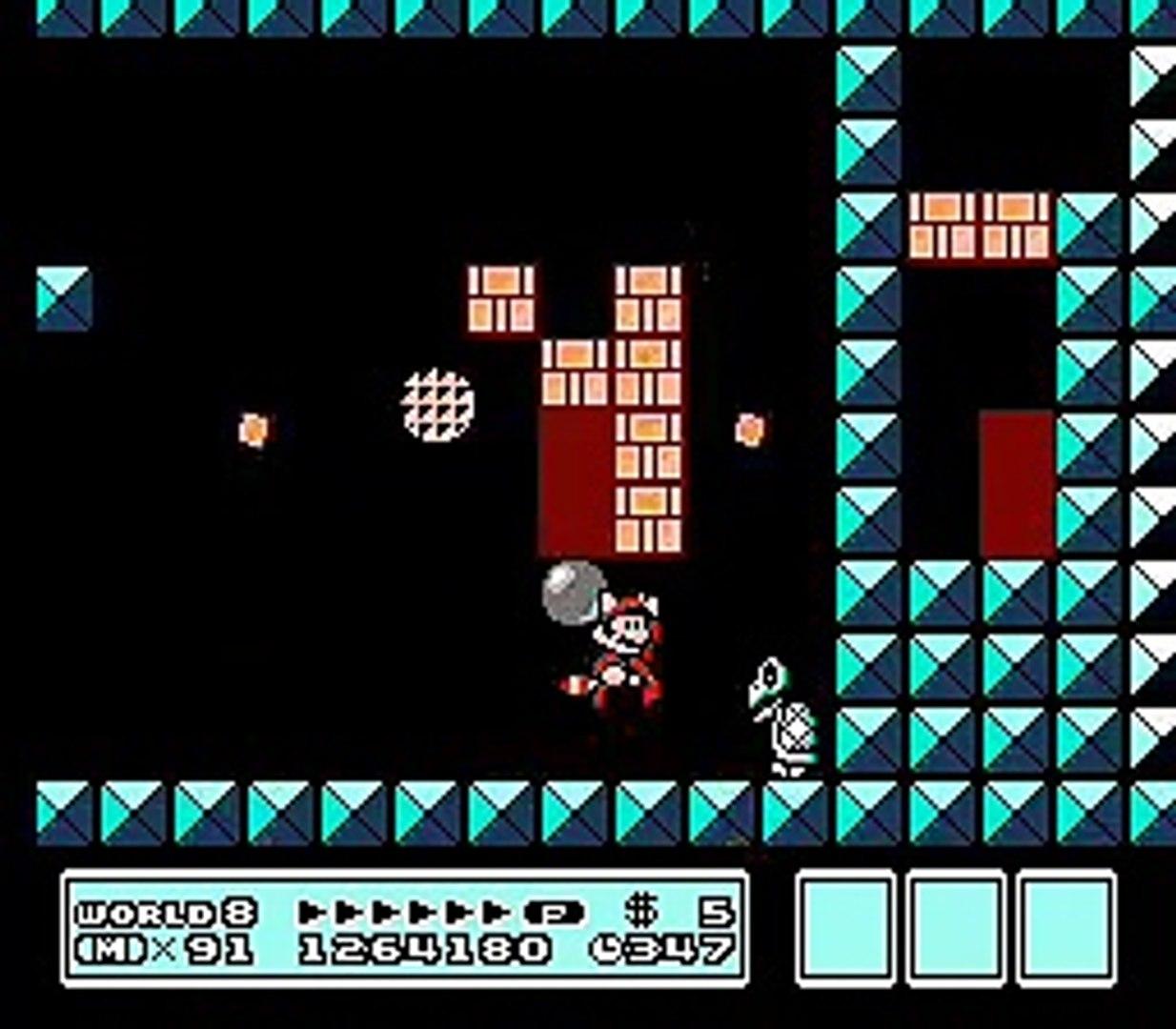 Super Mario Bros 3 World 8 Mini Castle Video Dailymotion