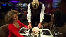 Goldust serves up some weirdness to R-Truth and his wife: Raw, February 15, 2016