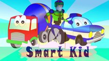 Cartoon Helicopters Teaching Colors Learning Colours Video for Kids, Toddlers & Babies. Ro