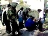 Les sionistes attaquent une pacifiste chrétienne.avi[1]
