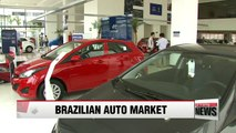 Hyundai Motor's market share in Brazil hits all-time high