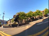 FAKIE OLLIE OVER THE BLOCK!