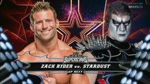 Zack Ryder vs Stardust, WWE Superstars 12.02.2016