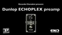 Dunlop ECHOPLEX Preamp - Audio Test by Riccardo Cherubini