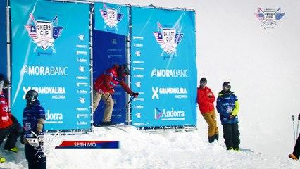 Run Seth Morrison - BC Slopestyle Round 1 - Mora Banc Skiers Cup Grandvalira 2016
