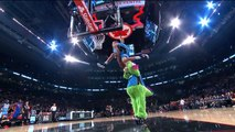 Aaron Gordon Between-the-Legs, Over the Mascot Dunk
