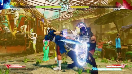 SFV  Character Introduction Series - Chun-Li de Street Fighter V