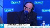 """Cyril Hanouna : """"Pascal Obispo est propre ! On mangerait sur Pascal !"""""""