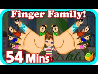 Finger Family Dance Rhymes| Plus Lots More Kids Nursery Rhymes| 54 Minutes Compilation from Magicbox