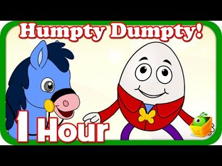 Humpty Dumpty Sat On A Wall| Plus Lot More Nursery Rhymes| 1 Hour Compilation For Kids From Magicbox