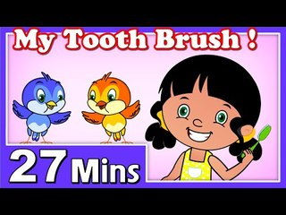 My Tooth Brush Rhymes | Plus Lots More Kids Nursery Rhymes| 27 Minutes Compilation from Magicbox