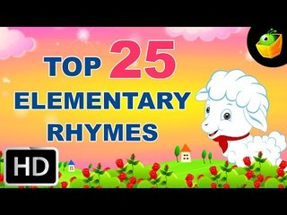 Top 25 Hit Songs For Elementary Kids | +40 Mins | English Nursery Rhymes | Compilation HD Animation