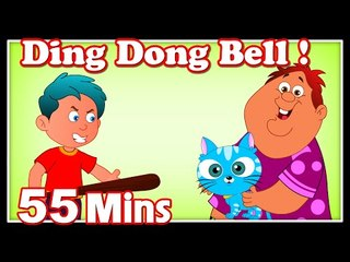 Ding Dong Bell Rhymes | Plus Lots More Kids Nursery Rhymes| 55 Minutes Compilation from Magicbox
