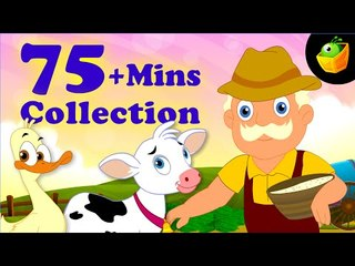Old MacDonald And More Rhymes - 75 Plus Mins Compilation Of English Nursery Rhymes  For Kids