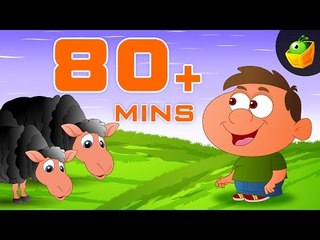 Baa Baa Black Sheep And More Rhymes - 80 Plus Mins Collection Of English Nursery Rhymes  For Kids
