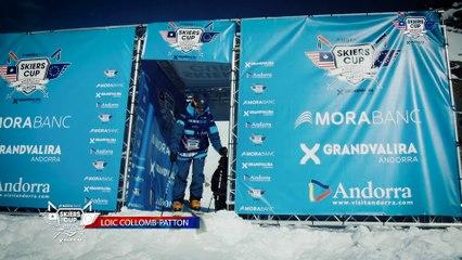 Run Loïc Collomb-Patton - BC Slopestyle Round 1 - Mora Banc Skiers Cup Grandvalira 2016