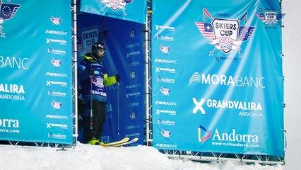 Run Mathieu Bijasson - BC Slopestyle Round 1 - Mora Banc Skiers Cup Grandvalira 2016
